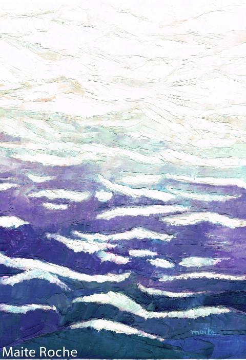 L'éternité, c'est la mer mêlée au soleil, Je vous Salue Marie, Maïte Roche, Editions Droguet-Ardant 1979
