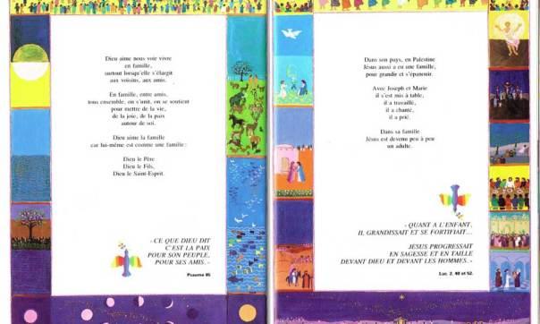 La famille, Mon livre de Dieu, Christiane Gaud & Maïte Roche, Mame, 1981