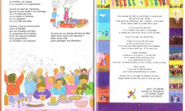 Les fêtes, Mon livre de Dieu, Christiane Gaud & Maïte Roche, Mame, 1981