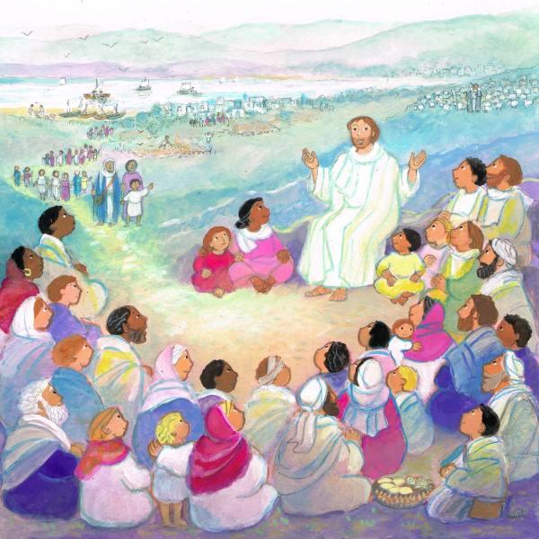 Jésus est la Parole de Dieu, Mon petit Missel, Maïte Roche, Mame, 2008