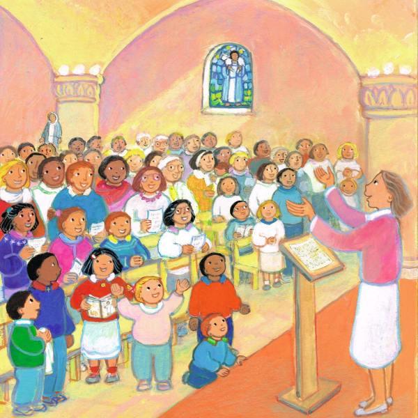 Gloire à Dieu, Mon petit Missel, Maïte Roche, Mame, 2008
