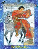 Saint Martin, puzzle 16 pièces, Maïte Roche, Mame