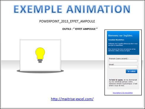 POWERPOINT_2013_EFFET_ANIMATION_AMPOULE_2