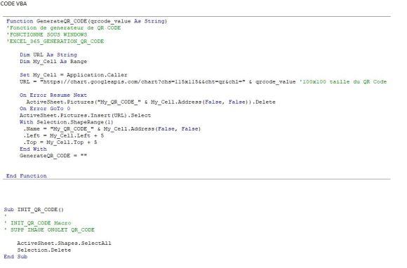 Excel 365 : Comment créer un QR Code sur Excel, les outils Offices via VBA Excel en moins de 5 min?