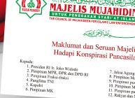 Maklumat dan Seruan Majelis Mujahidin Hadapi Konspirasi Pancasilais Munafik