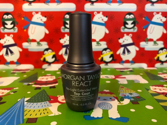 React Top Coat From Morgan Taylor