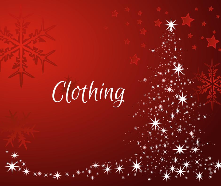 Clothing #HolidayGiftGuide2019