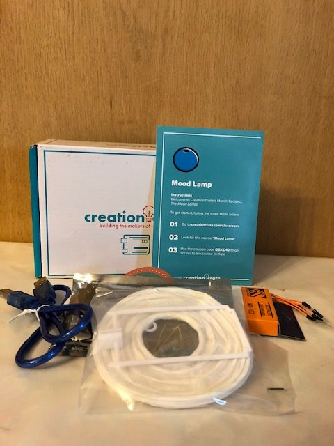 Creation Crate Mood Lamp Project