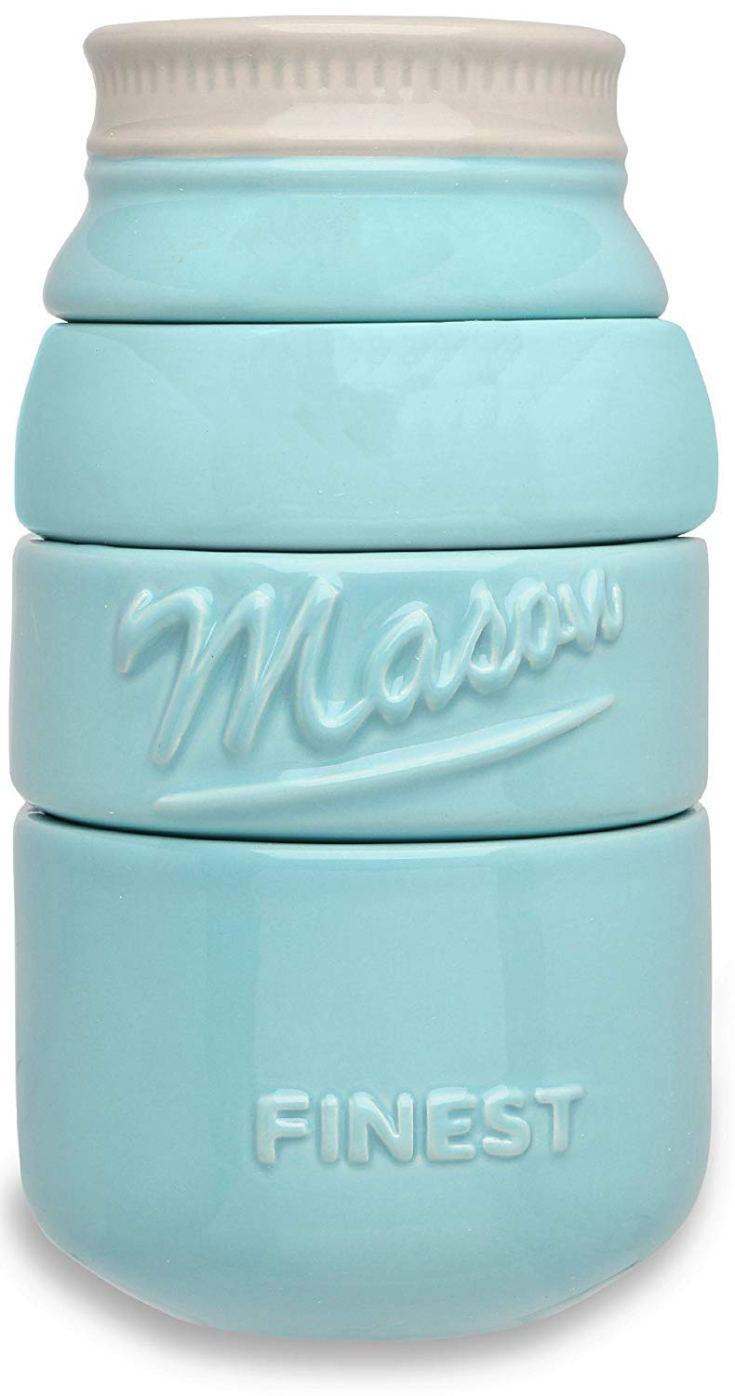 Sparrow Decor Mason Jar Measuring Cup Set