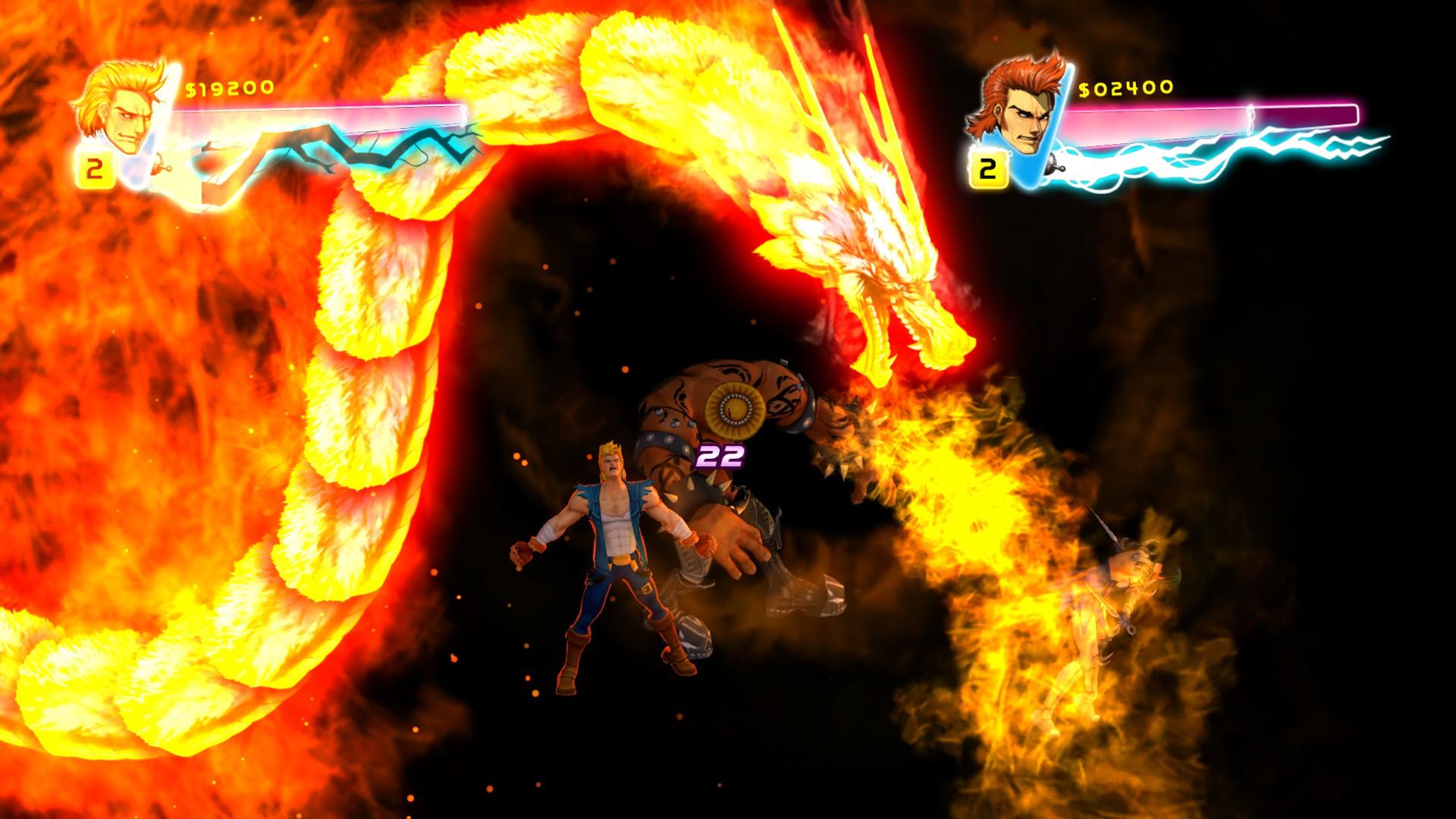 Double Dragon Neon Majesco Entertainment