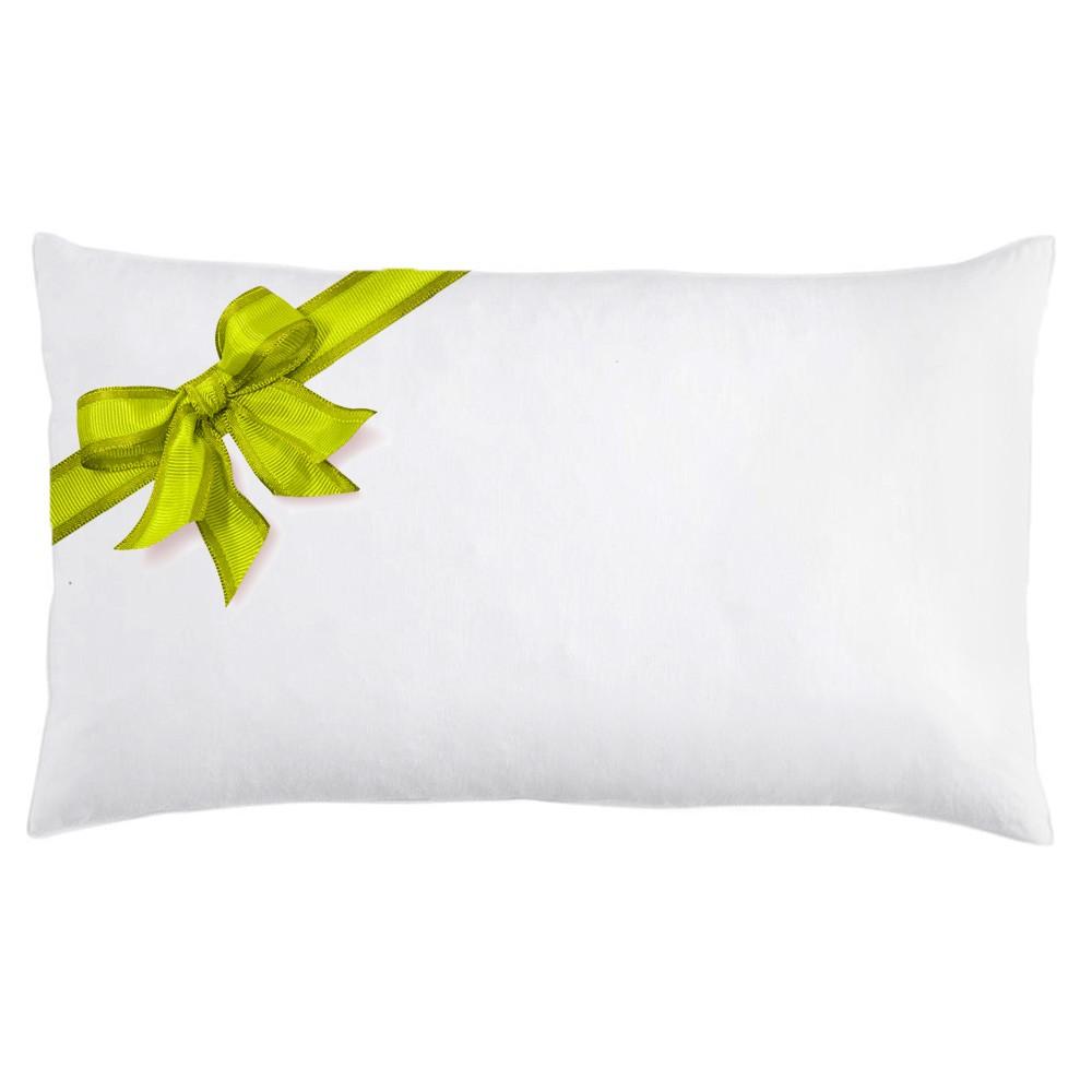 hypoallergenic down alternative pillow insert 12 x 20 16 x 26