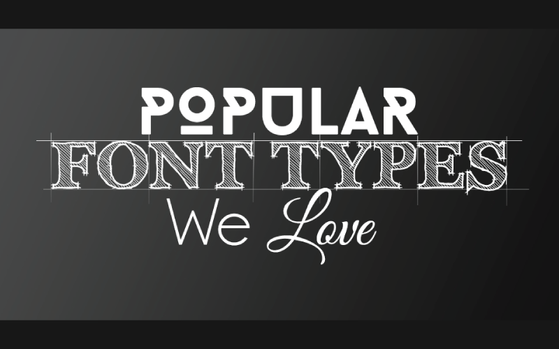 Choosing a Font Type for Your Design