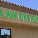 Law office exterior building signs