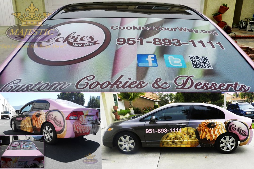 Vehicle Wrap - Bakery Corona