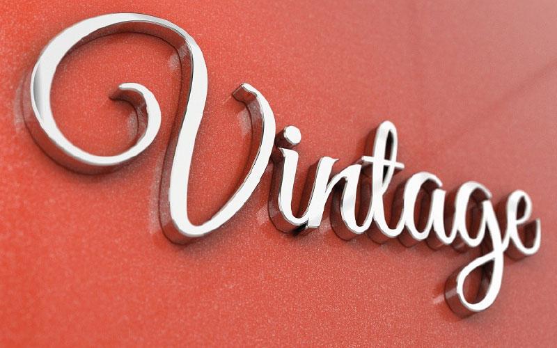 Vintage Sign Design