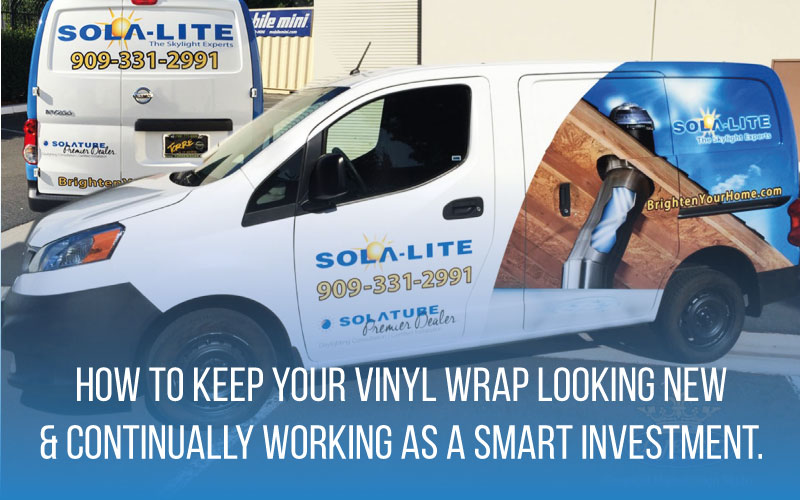3 Principles of Proper Vinyl Wrap Care