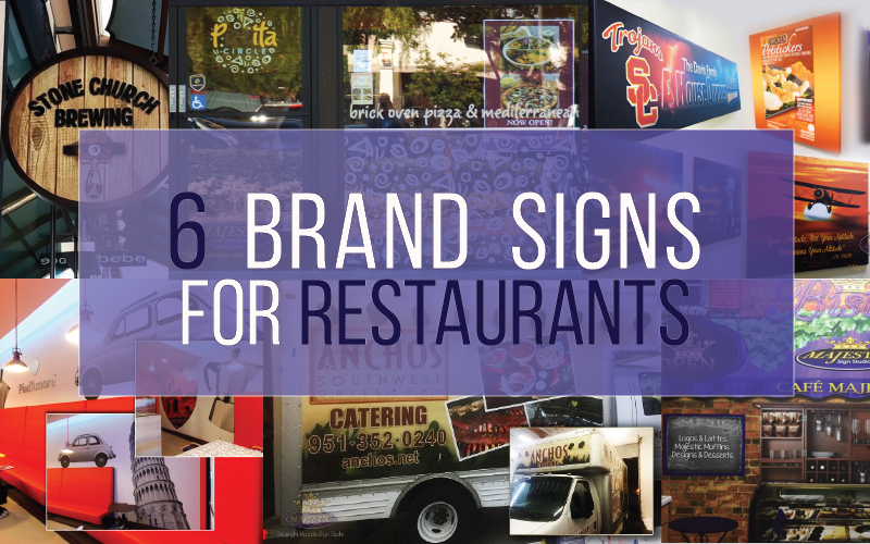 6 Unique Ways to Use Brand Signs in Your Restaurant