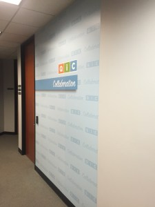 Corporate Branding Wall Grraphic