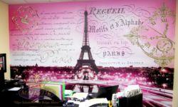 Paris Theme Wall Mural