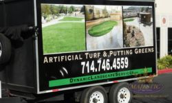 Trailer Wraps - Landscaping Service, Inland Empire & Orange County