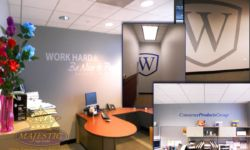 Corporate Office Wall Branding