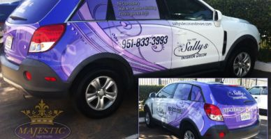 Car Wrapping - Interior Decor, Riverside, Orange and Los Angeles Counties