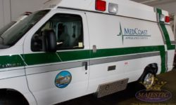 Custom Decals - Ambulance Service, Orange County