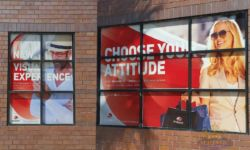 Perforated Vinyl Window Graphics