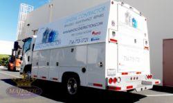 Work Truck Wrap - General Contractor, Corona