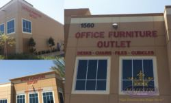 Office furniture outlet Building Signs