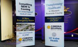 Corona Regional Medical Center Retractable Banners
