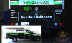 Truck Wrap Advertising - Installation Company, southern California