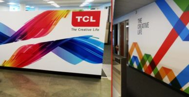 Window and Wall Graphics TCL Wall Mural and Cut Decals