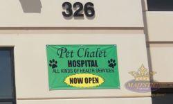 Pet Chalet Now Open - Banner