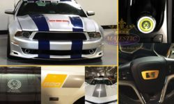 Custom Automotive Decals & Racing Stripes - Performance Automobile Factory, Corona