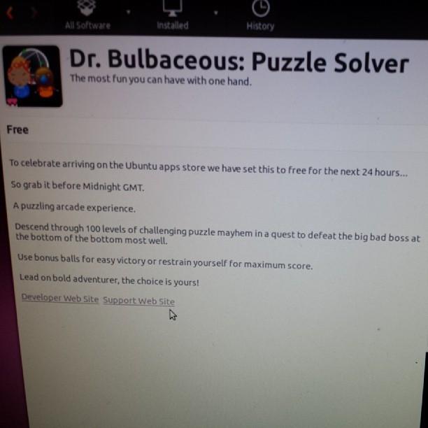 #bubble game #ubuntu