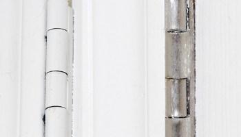 DIY Garage Door Makeover With Decorative Hardware - Major