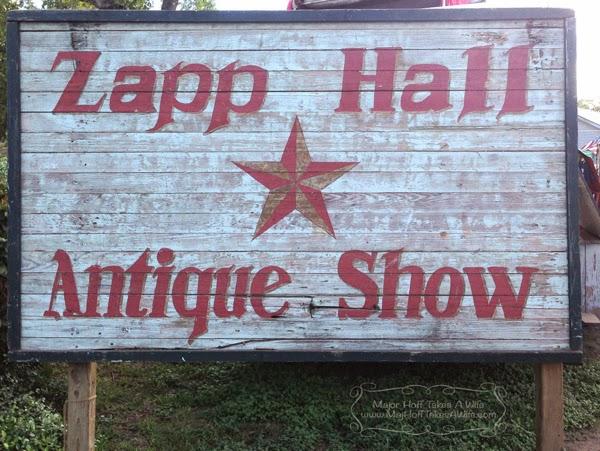 Zapp Hall pallet sign