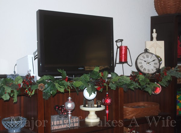 Entertainment Center Playroom Garland
