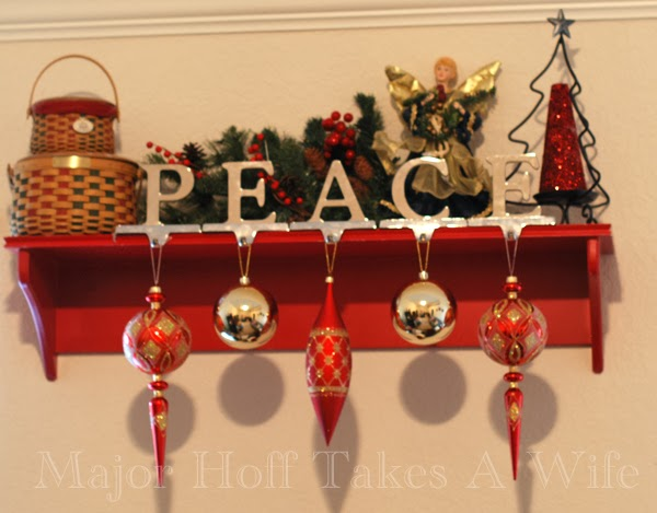 Playroom Shelf Peace Angel Tree