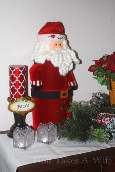 Santa Peace buffet