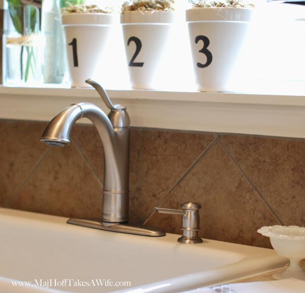 Walden Faucet with Soap Dispenser