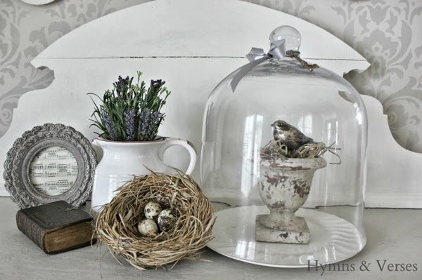 Spring Vignette by Hymns and Verses