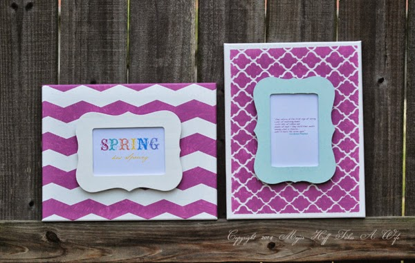 Easy Spring Artwork using Pantone color of the year