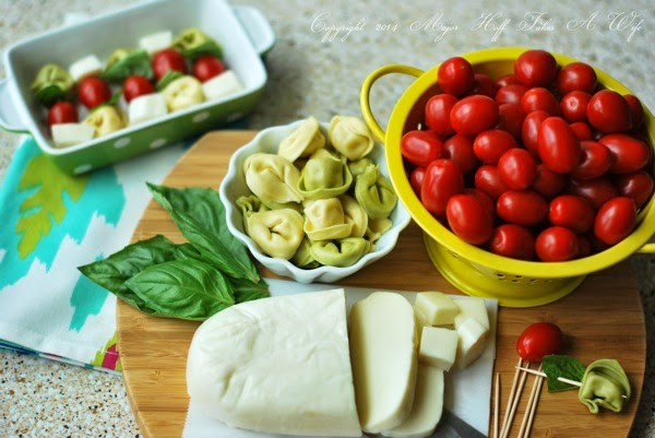 Easy margherita style appetizers