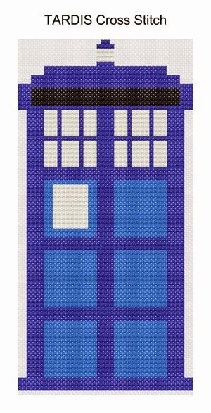 Tardis cross stitch1