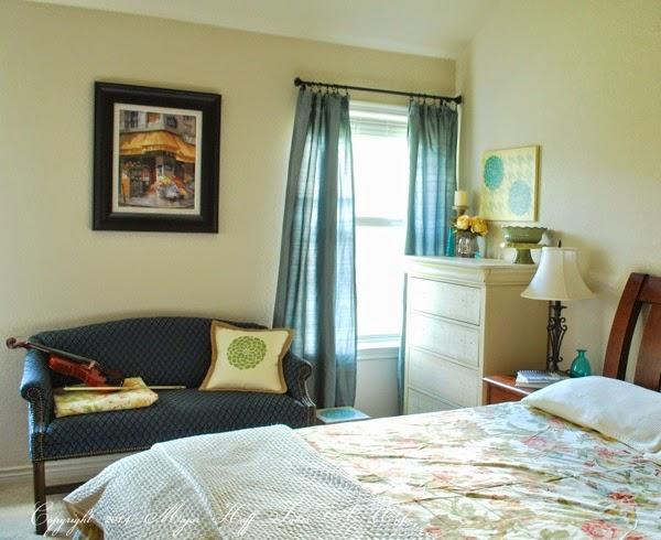 Master bedroom using Tulip Stencils