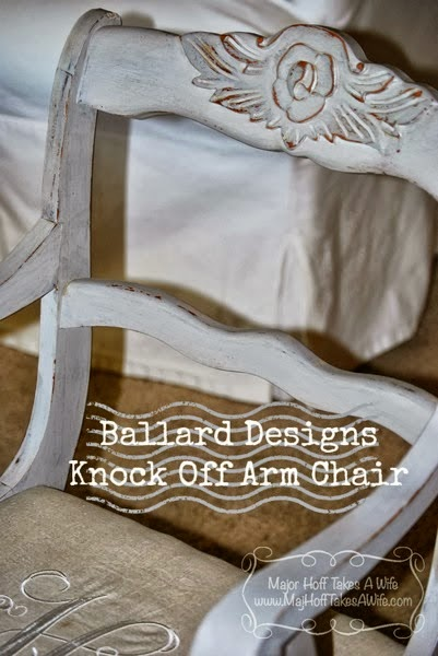 Ballard Designs Knock Off Chair