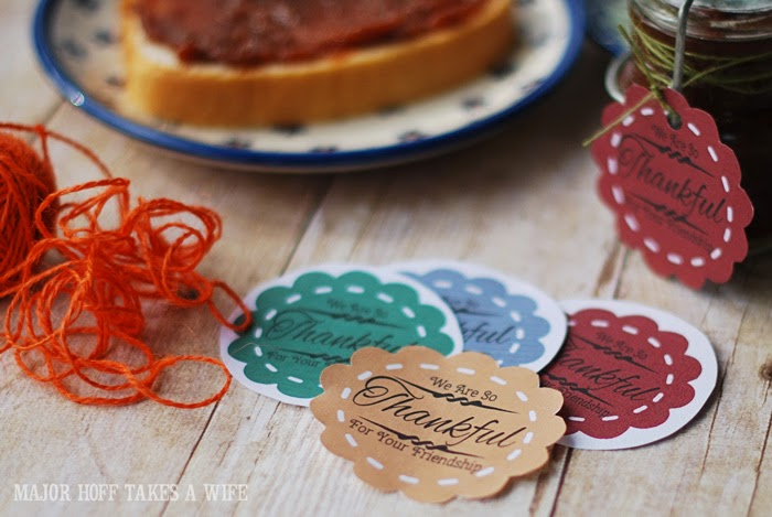 We are so thankful for your friendship gift tags