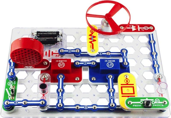 Snap circuits make a great gift for boys. A mom of 4 boys lists her top 10 favorite gifts for boys. All items listed are owned by the family and have been used on a consistent basis. They have stood the test of time, and more importantly, the possibility of being destroyed by 4 boys.